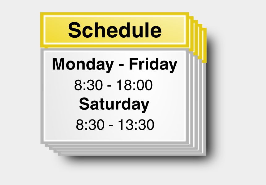 daily schedule clipart, Cartoons - Schedule Symbol Clip Art - Motivate Yourself To Study