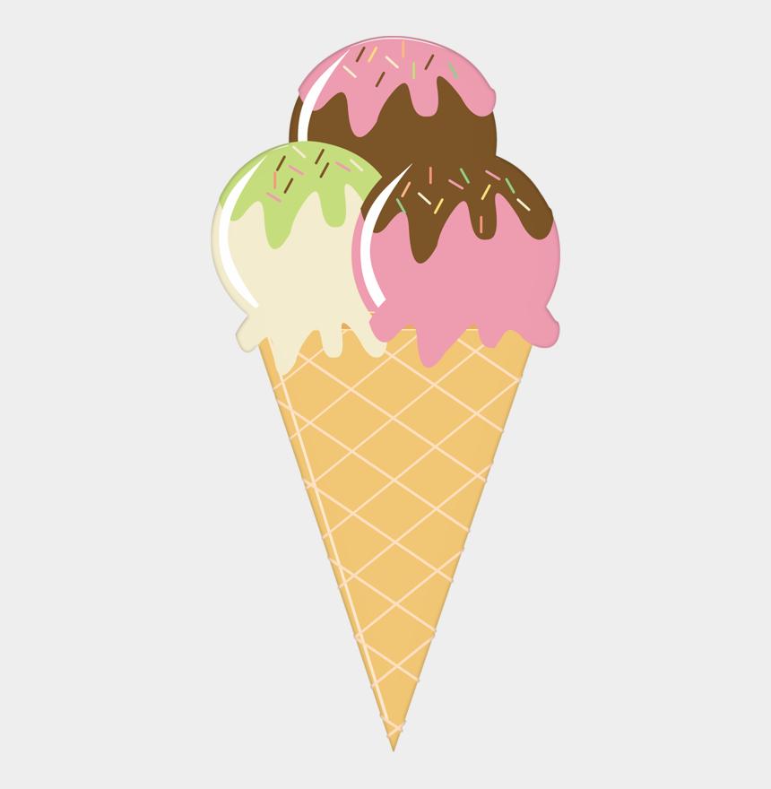 ice cream sundaes clipart, Cartoons - Ice Cream Cone Sundae Strawberry Ice Cream - Summer Ice Cream Clipart