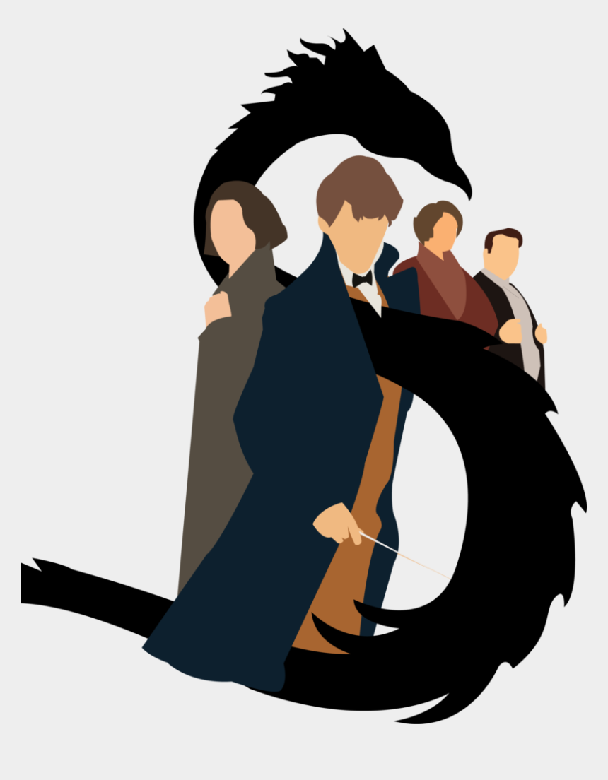 giggle clipart, Cartoons - Mitchell Paddy/staff Illustrator - Fantastic Beasts And Where To Find Them Clip Art