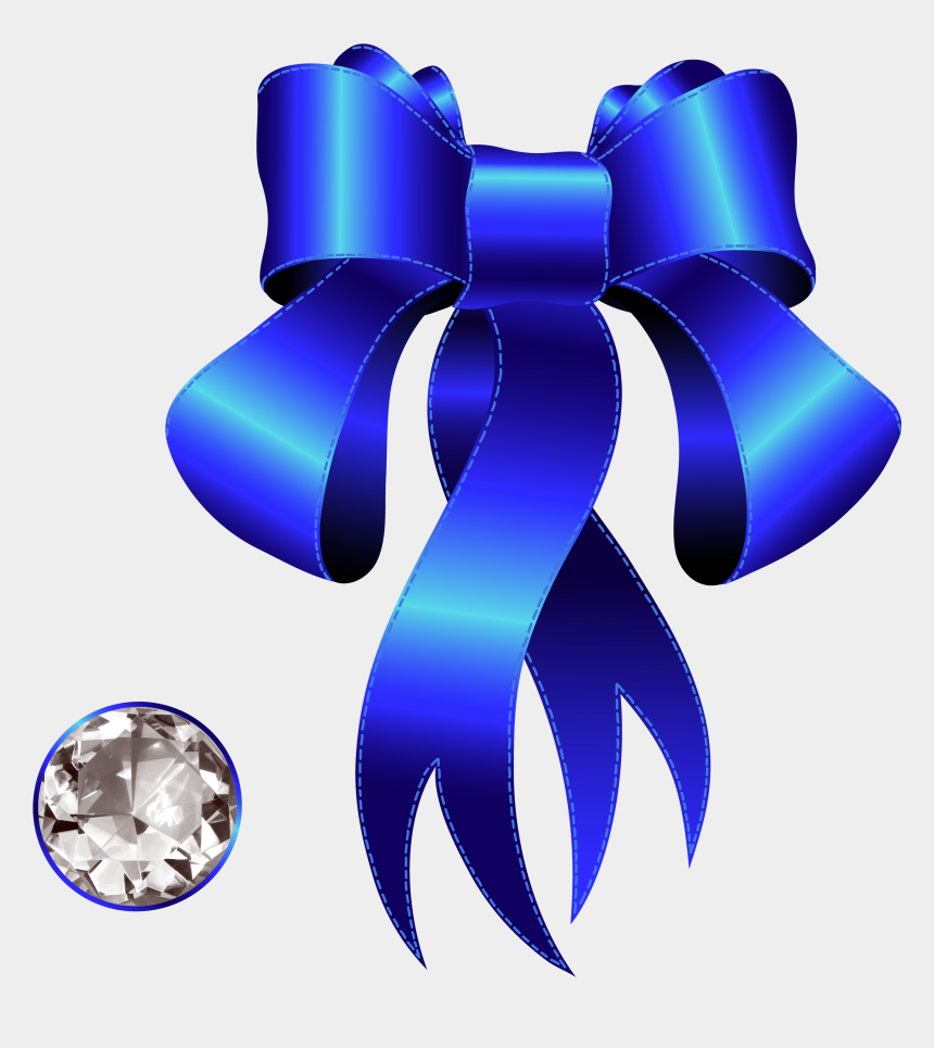 blue ribbon clipart, Cartoons - Blue Decorative Bow With Png Gallery Yopriceville Ⓒ - Decorative Borders With Diamond
