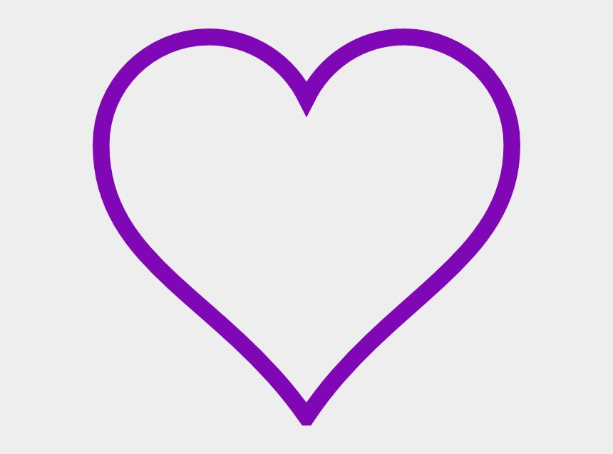 purple hearts clipart, Cartoons - Purple Heart Outline Clip Art Vector Online Royalty - Purple Heart Outline Clipart
