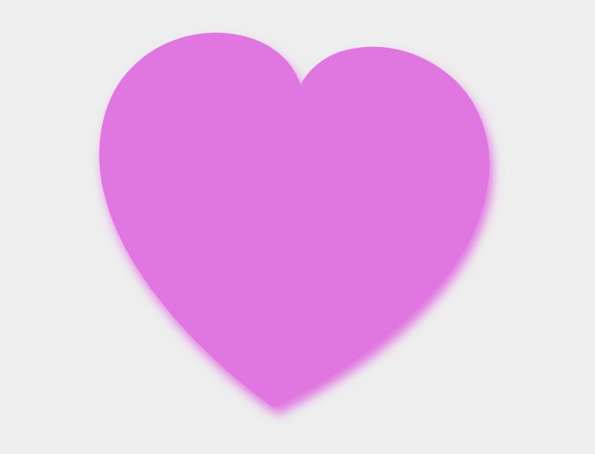 purple hearts clipart, Cartoons - Light Purple Heart Clip Art At Vector Clip Art - Purple Pink Heart Png