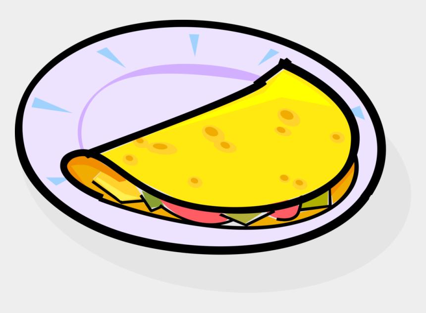 omelet clipart, Cartoons - Vector Illustration Of Omelet Food Dish Made From Beaten - Omelete Vetor Png