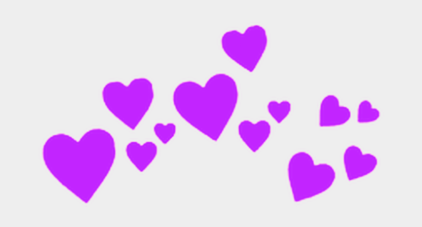 purple hearts clipart, Cartoons - #purple #hearts #heart #crowns #crown #heartcrown #heartcrowns - Heart Crown Overlay