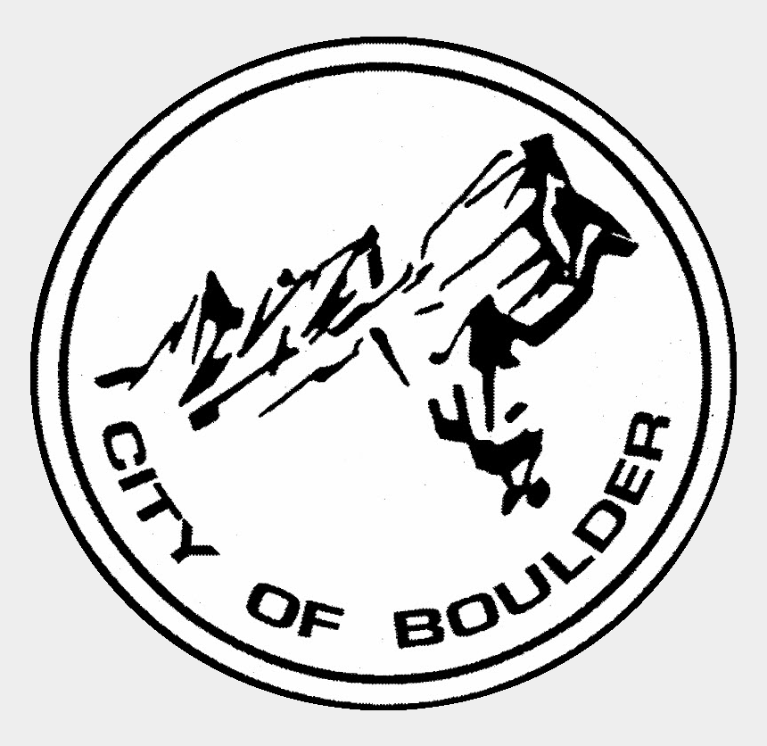 boulder clipart, Cartoons - City Of Boulder Logo Clipart , Png Download - City Of Boulder Logo