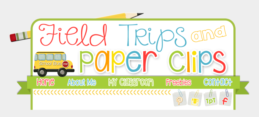 paper clips clipart, Cartoons - Field Trips And Paper Clips Weekly Recap Ⓒ - 4th Grade Facebook Banner
