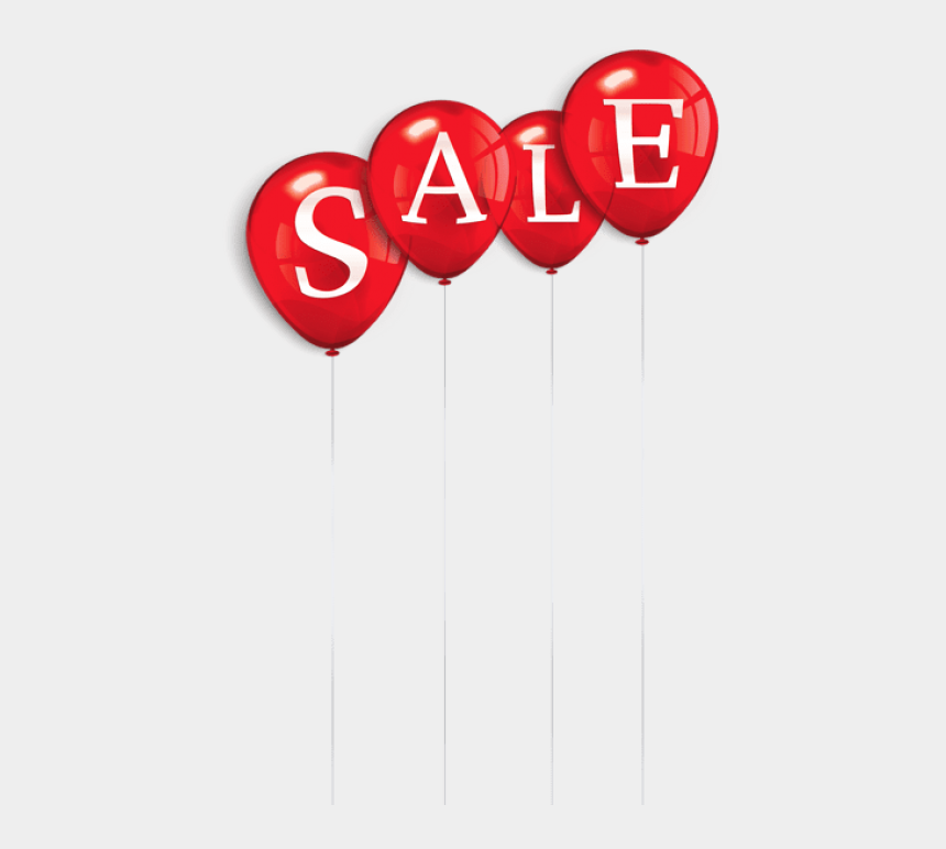 for sale clipart, Cartoons - Sale Clipart Red - Sale Balloon Png