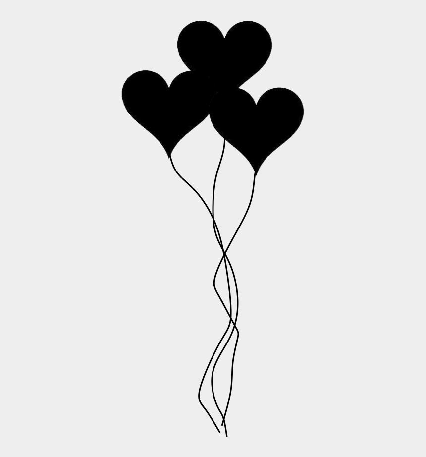 heart organ clipart, Cartoons - Pin By Ilija Rojdev On Laser Engraving - Love Balloons Black And White