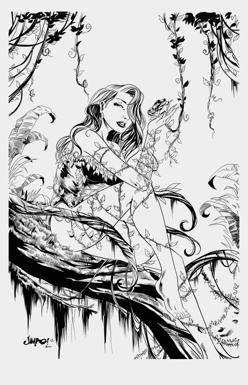 Download Poison Ivy Coloring Pages Clipart Poison Ivy ...