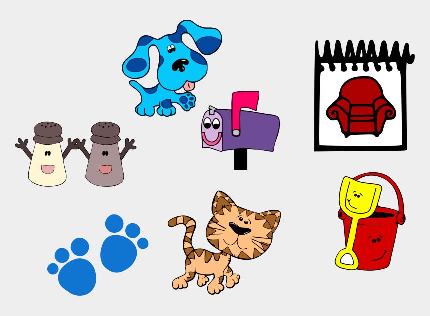 clues clipart, Cartoons - Blue's Clues Clip Art And Set Clipart Png - Blues Clues Clipart