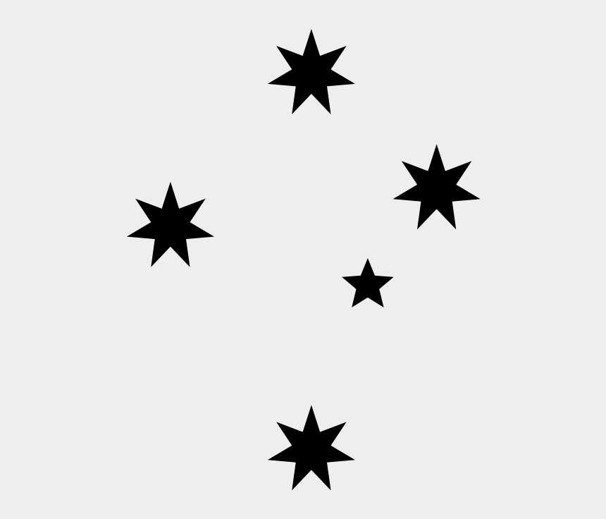 southern clipart, Cartoons - Southern Cross Stars Vector