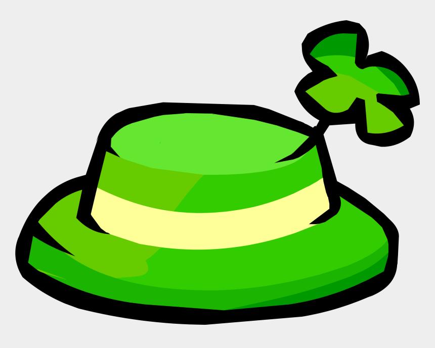 shamrock clipart no background, Cartoons - Image - Shamrock Hat - Png - Club Penguin Wiki - The - Club Penguin Shamrock Hat