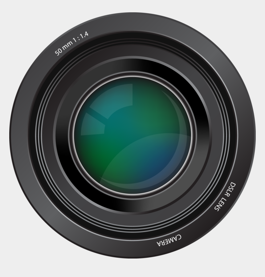 dslr clipart, Cartoons - Camera Lens Png Clipart - Free Camera Lens Clipart
