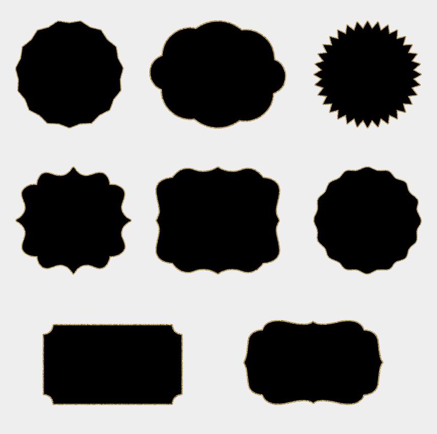 circle frame clipart, Cartoons - Ornate Frames Clipart - Black Frame Clipart Png