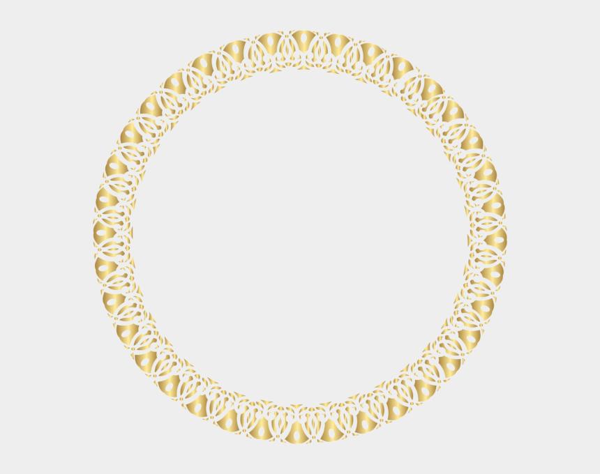 circle frame clipart, Cartoons - Round Transparent Clip Art - Gold Circle Frame Transparent