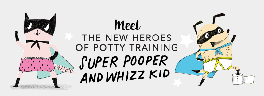 kids pushing each other clipart, Cartoons - The New Heroes Of Potty Training