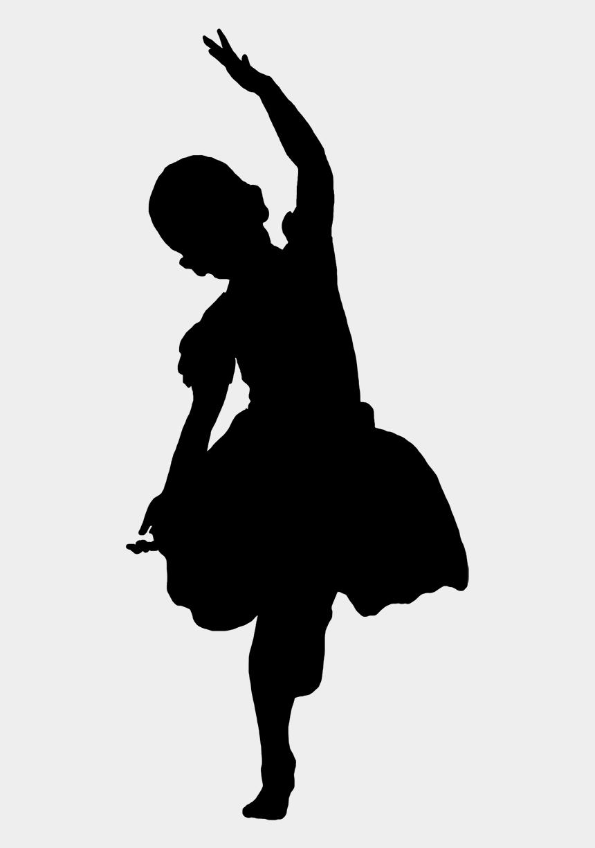 Silhouette Of Dancing Girl Black Transparent Black Girl Silhouette Cliparts Cartoons Jing Fm