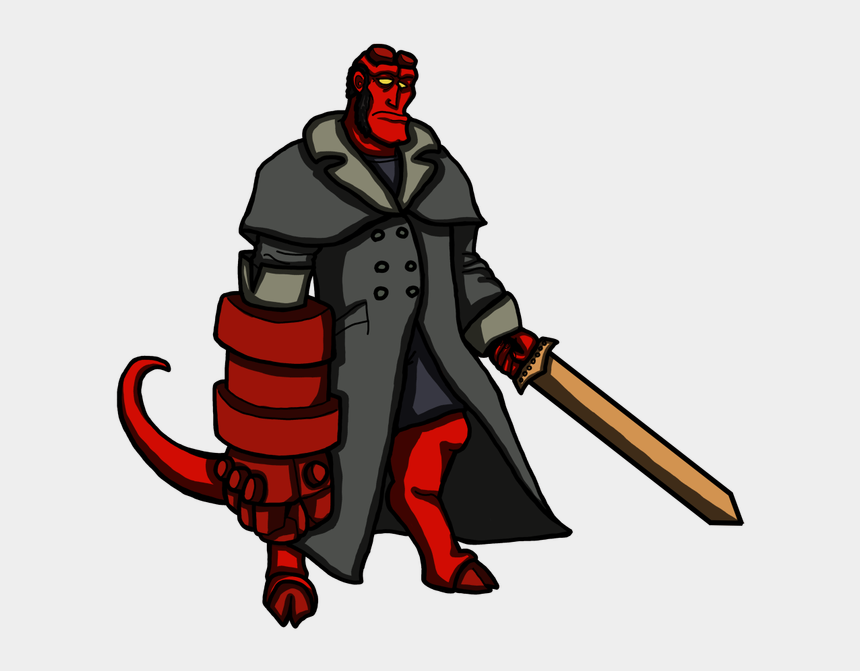 demons clipart, Cartoons - Hellboy Clipart Demons - Portable Network Graphics
