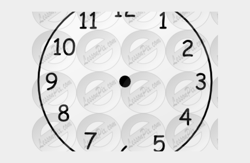 Clock Clipart Blank - Clock Face Template, Cliparts & Cartoons - Jing fm