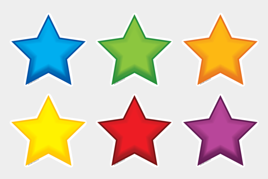 game pieces clipart, Cartoons - Tcr62663 Colorful Stars Mini Accents Image - 3 Stars Icon Png
