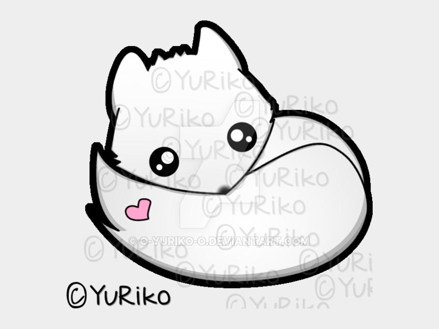 arctic clipart, Cartoons - Kawaii Arctic Fox By O Yuriko - Drawing Easy Cute Arctic Fox