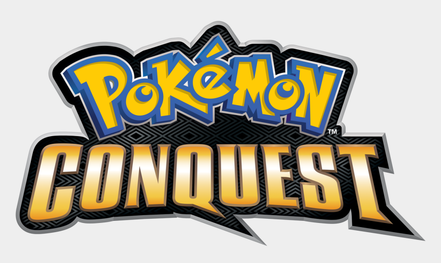 fan blowing clipart, Cartoons - As Much As I Love Nintendo, I've Never Been The Biggest - Pokemon Conquest Logo