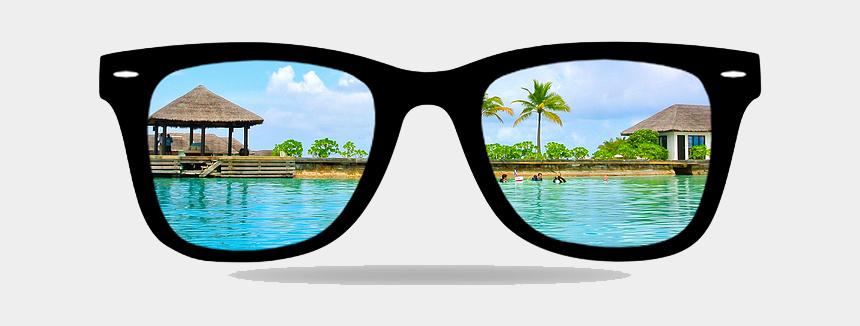 3d glasses clipart, Cartoons - Lens Glasses Sunglasses Ray-ban Png Download Free - Ray Ban Rx4340v Wayfarer