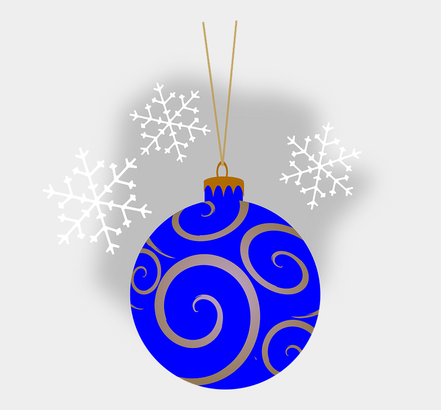 ornament outline clipart, Cartoons - Black And Gold Christmas Baubles