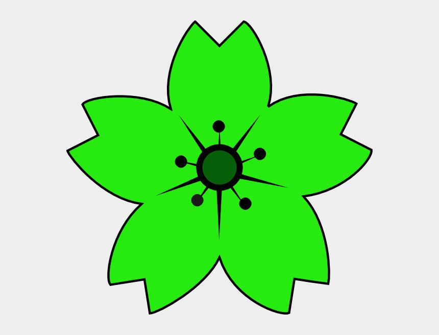 blaze clipart, Cartoons - Pink - Light Green Flower Clipart