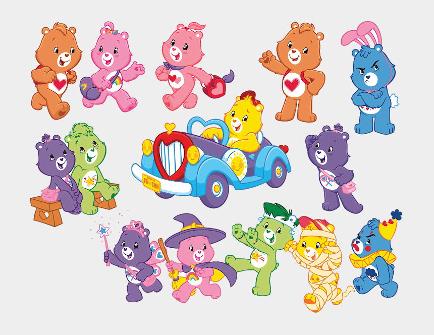 cousins clipart, Cartoons - Bear Theme, I Care, Cousin Family, Cousins, Care Bears, - Care Bears Adventures In Care