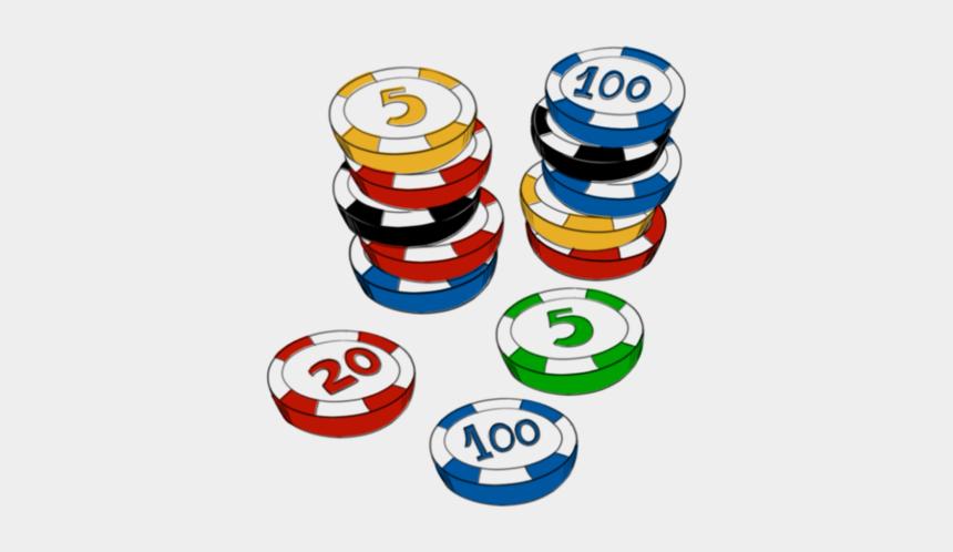 casino night clipart, Cartoons - 3 - Bingo Chips Clip Art