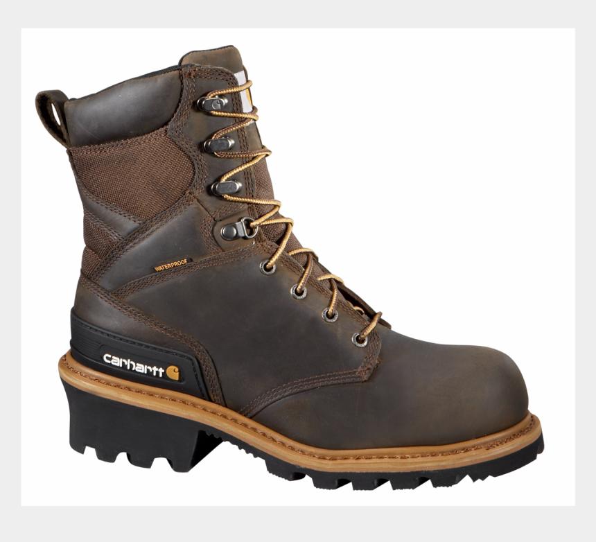 hiking boot clipart, Cartoons - Work Boots Png - Carhartt Logger Boots