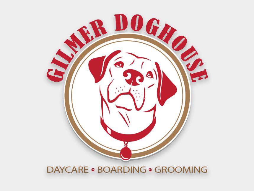 cute dog house clipart, Cartoons - Doghouse Clipart Dog Hotel - Bulldog