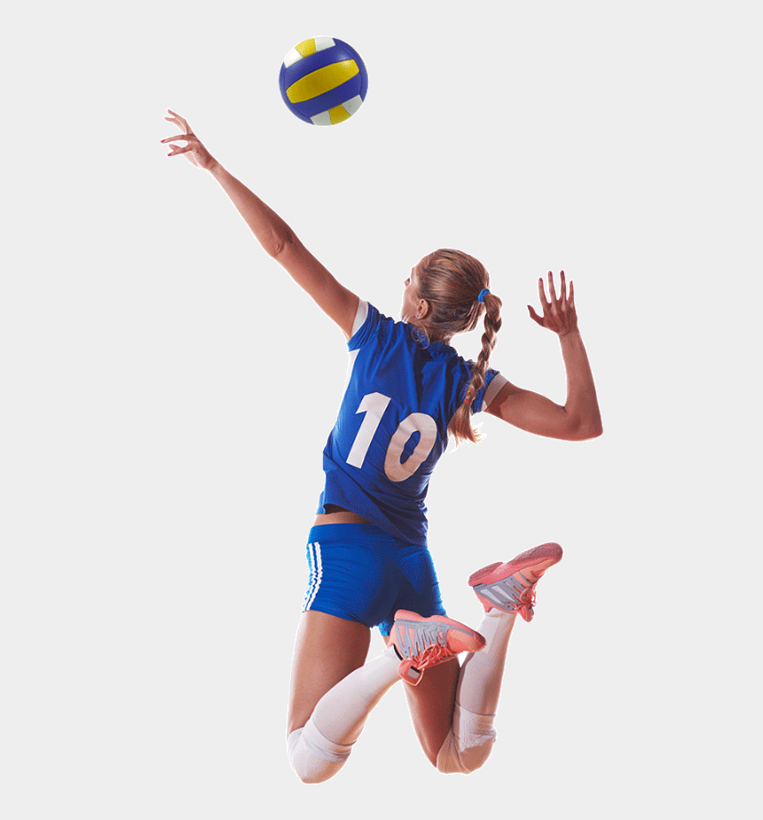 female volleyball player clipart, Cartoons - Volleyball Players - Volleyball Player Png