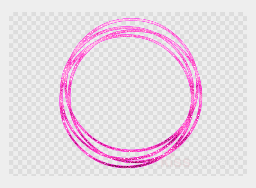 Circulo Neon Png Clipart Disk - Transparent Neon Circle Png