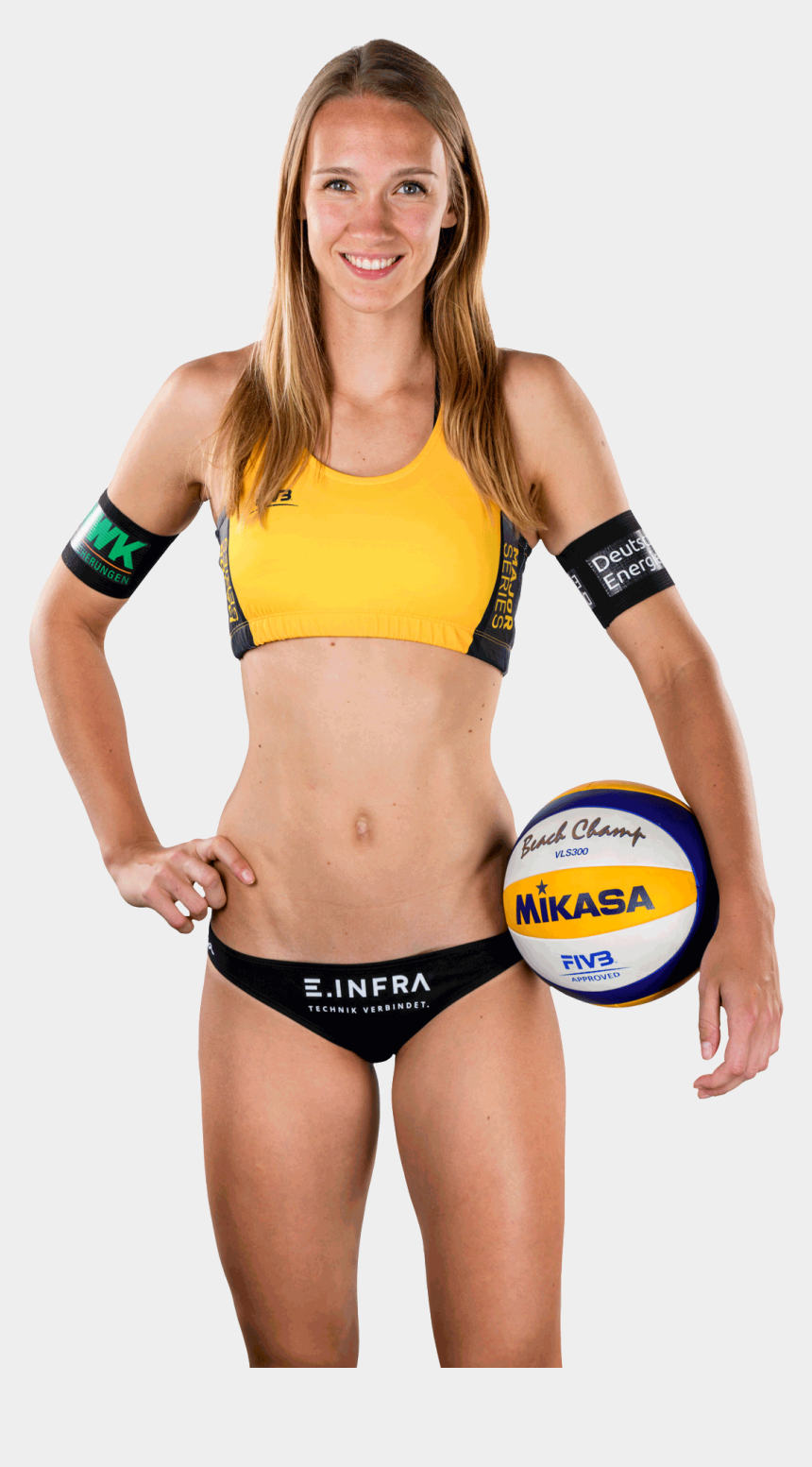female volleyball player clipart, Cartoons - Sandra Ittlinger - Volleyball - Volleyball Player Png