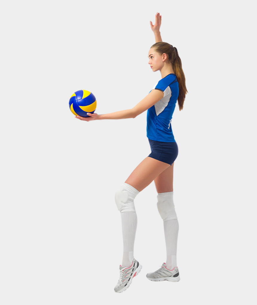 female volleyball player clipart, Cartoons - Download Free Png Volleyball Girl Png, Download Png - Volleyball Player With Transparent Background