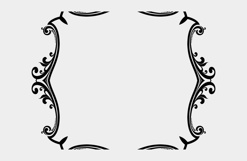 embellishment clipart, Cartoons - Flourish Clipart Frame - Border Decorative Ornament Png