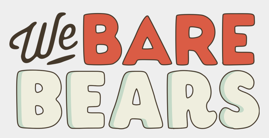 we the people clipart, Cartoons - We Bare Bears Logo Png