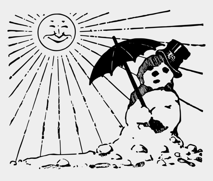 english language clipart, Cartoons - Computer Icons Melting Ice Cream Cones English Language - Melting Snowman Clipart Black And White