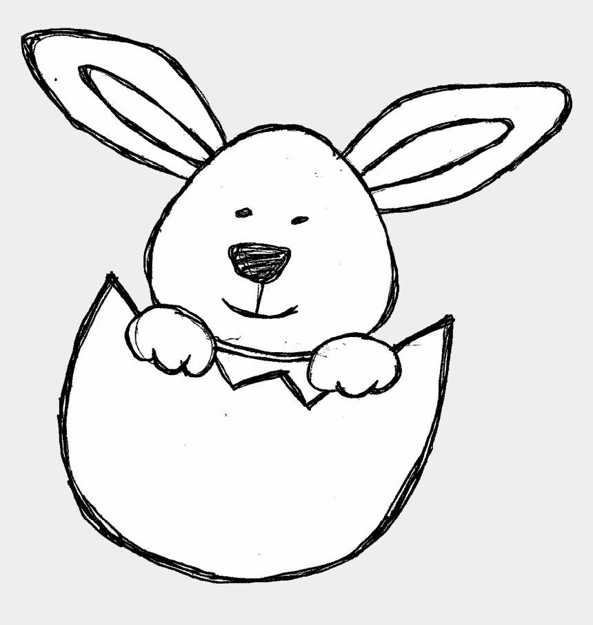 baby chicks clipart, Cartoons - Doodles Clip Art Set Of Bunnies, Baby Chicks, Ducks, - Rabbit Doodle Png
