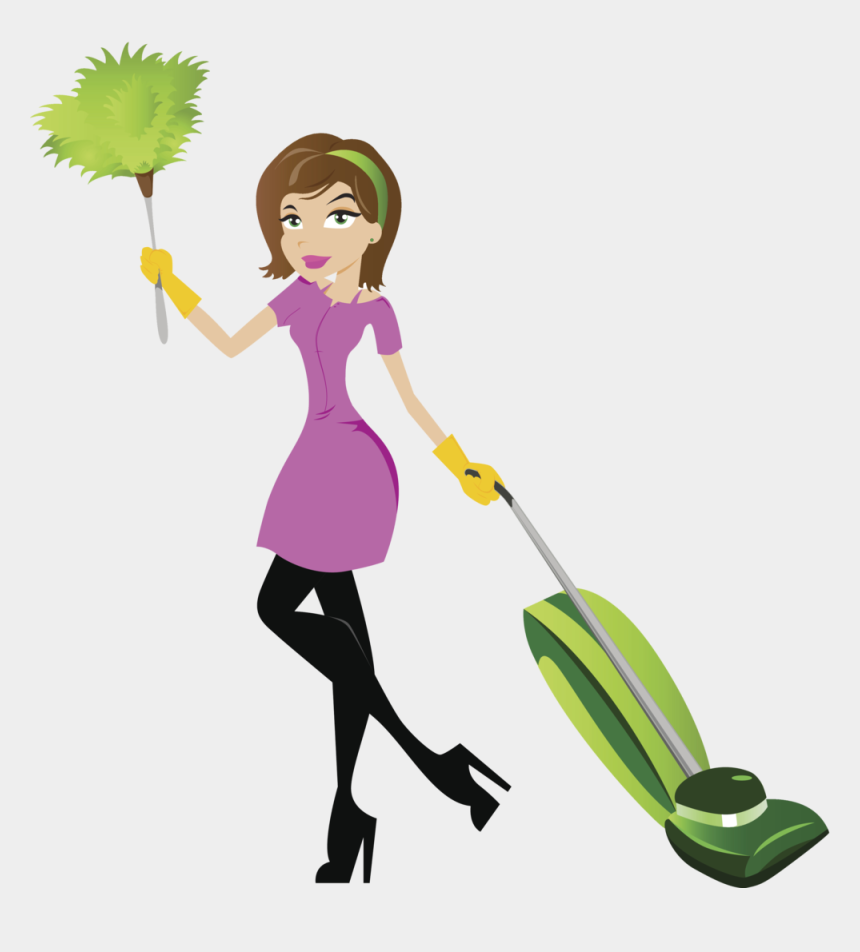 cleaning products clipart, Cartoons - Cleaning Clipart Art Materials - House Cleaning Lady Clip Art