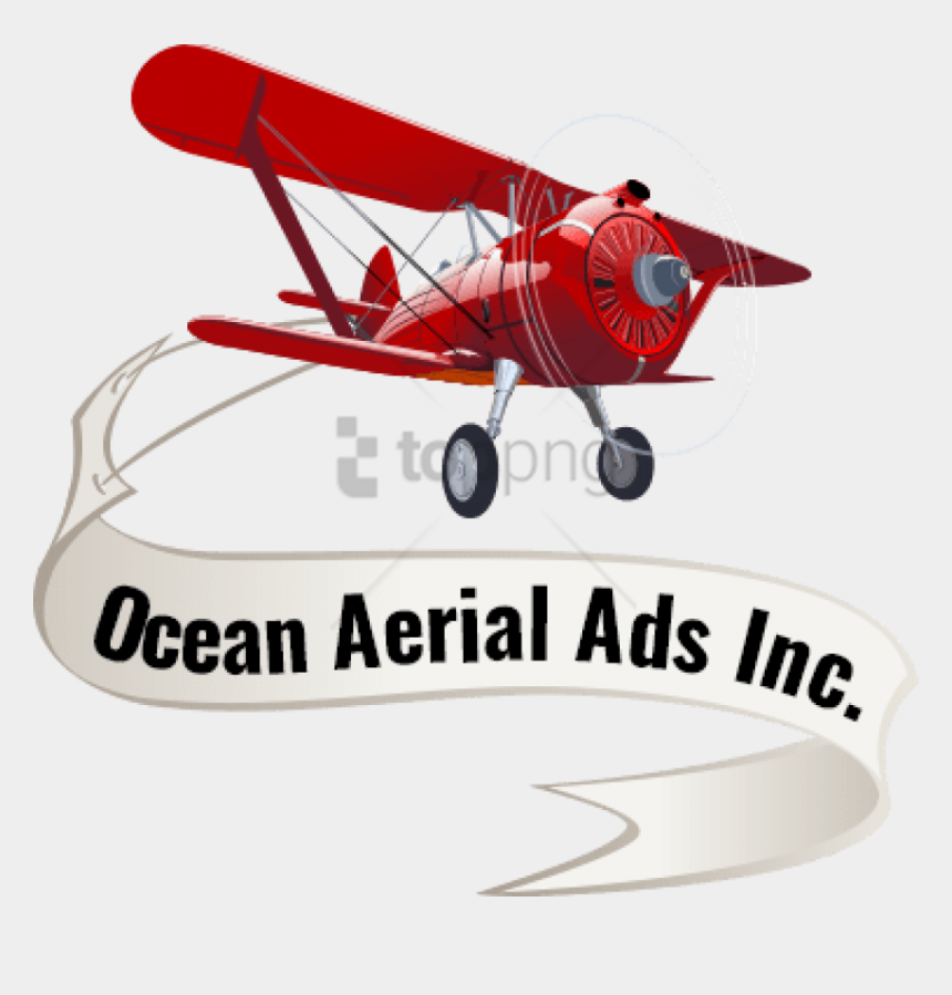 Free Png Airplane With Banner Png Image With Transparent Ocean