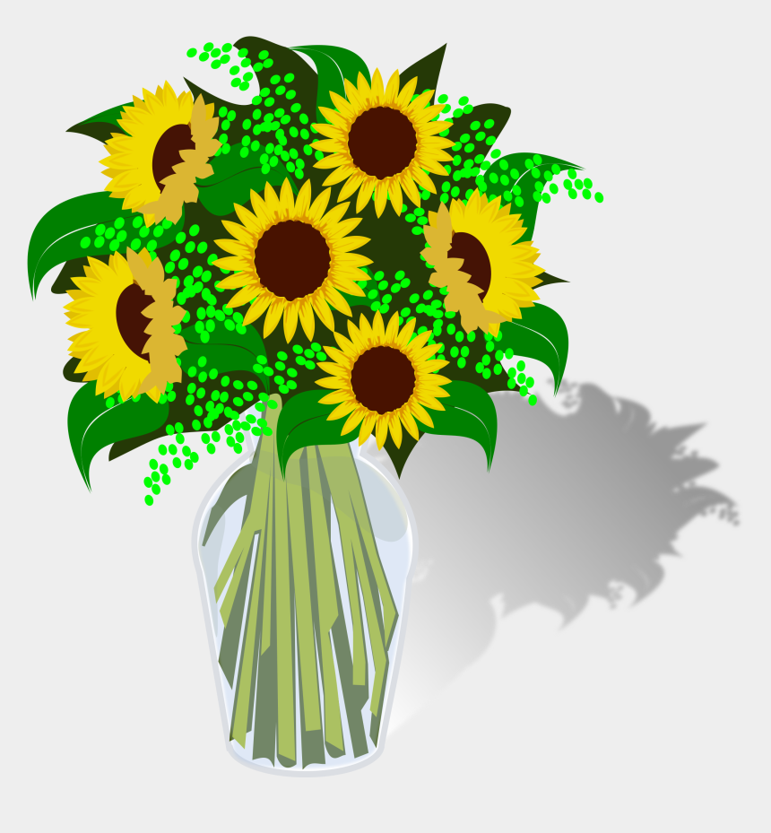 sunflower clipart png, Cartoons - Bouquet Vector Sunflower - Clipart Bouquet