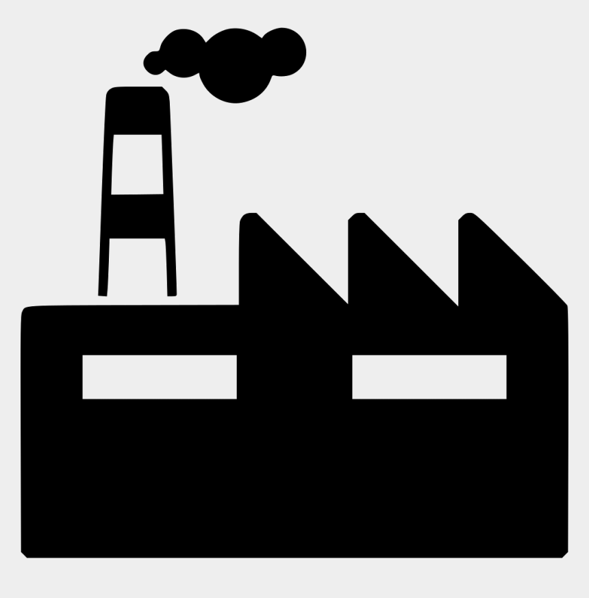 industrial clipart, Cartoons - Industry, Factory, Construction, Transparent Png Image - Industrial Plant Icon Png