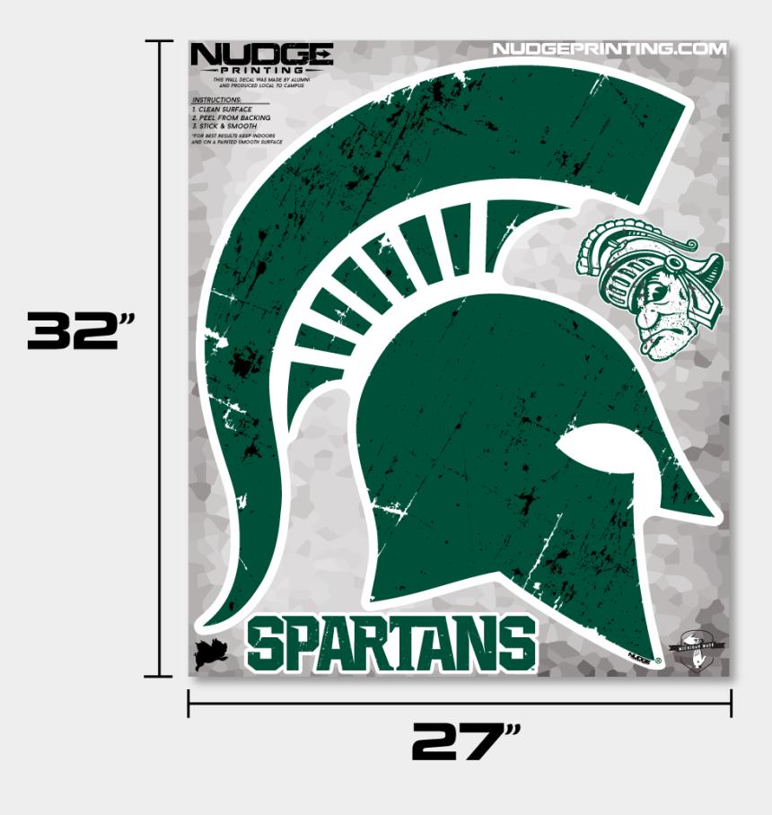 spartan helmet clipart, Cartoons - Classic Michigan State Msu Spartan Helmet Sparty Head - Michigan State University