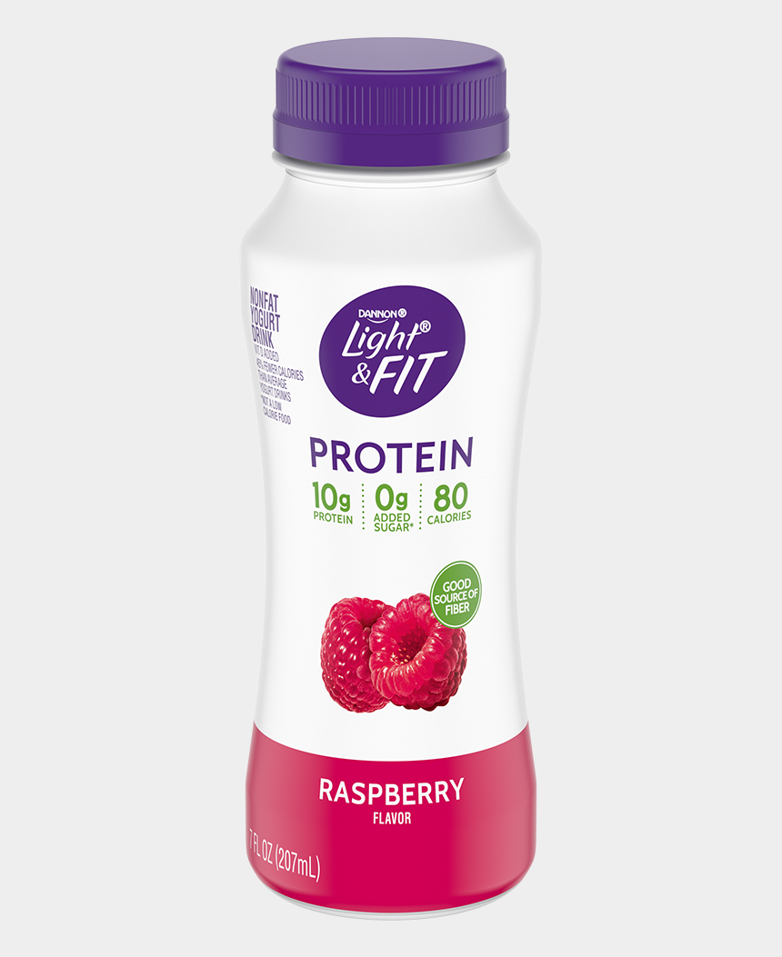 smoothie clipart, Cartoons - Raspberry Protein Smoothie - Light And Fit Yogurt Drink