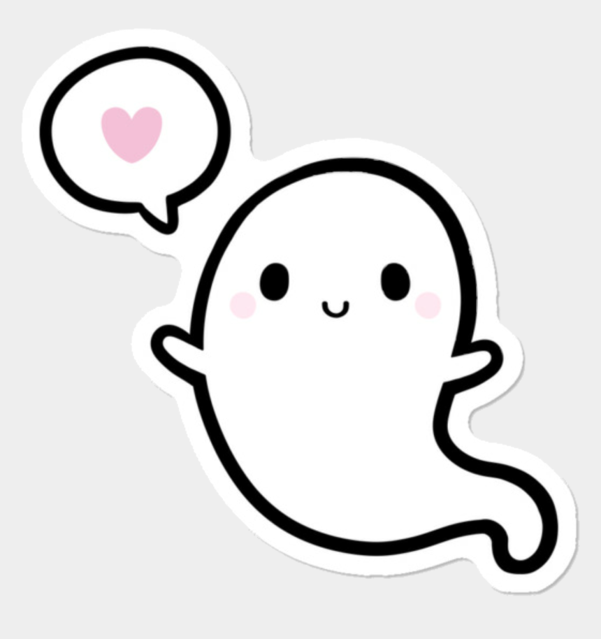 boo clipart, Cartoons - Ghost Halloween Spooky Scary Boo Cute Heart Love Png - Cute 123 Png