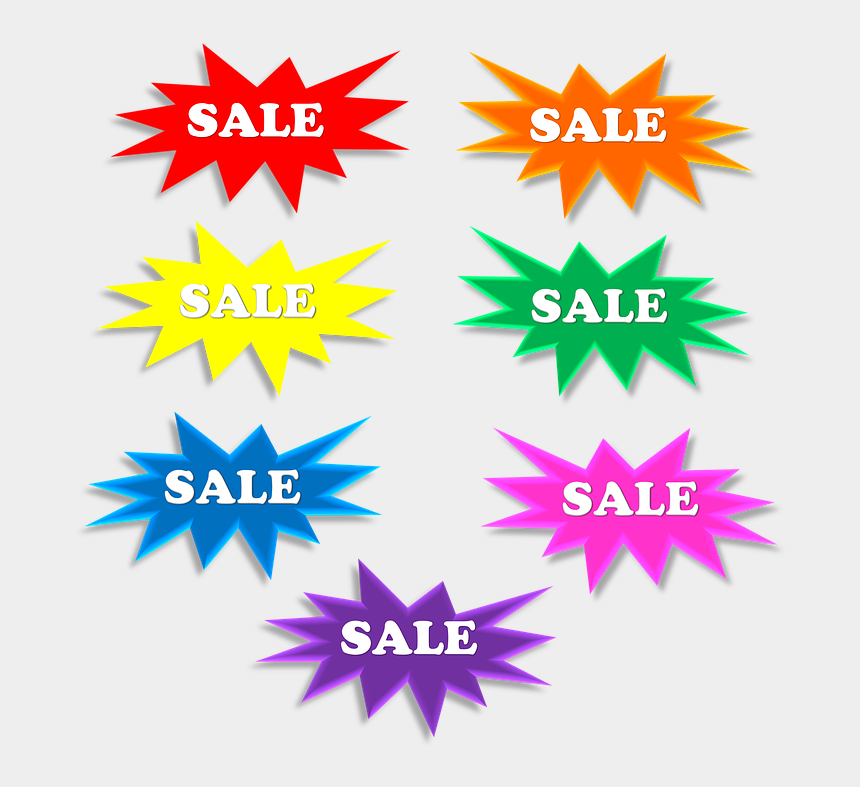 bursts clipart, Cartoons - Sale, Star, 3d, Bursts, Explosion, Label - Blank Star Sale