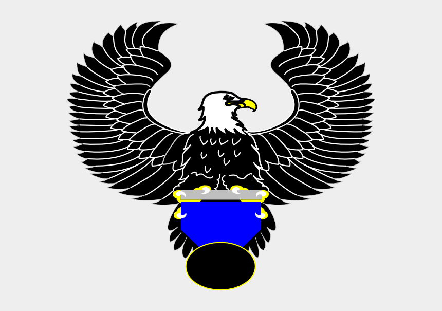 eagle head clipart black and white, Cartoons - Eagle Clip Art - Eagle Head Logo Transparent Png